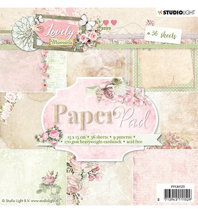 Studio Light - Paper pad - 36 vel Lovely Moments nr.123- PPLM123