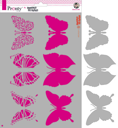 Pronty - Jolanda de Ronde - Butterflies