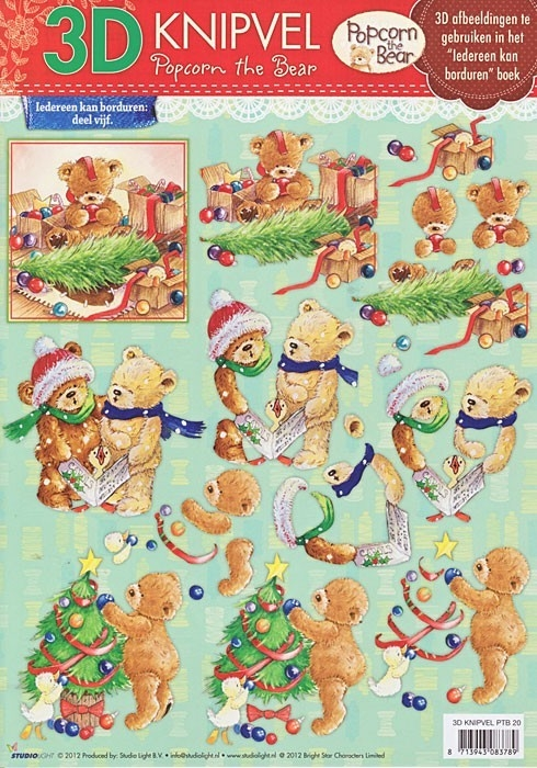 Studiolight, kerst beren - PTB 20