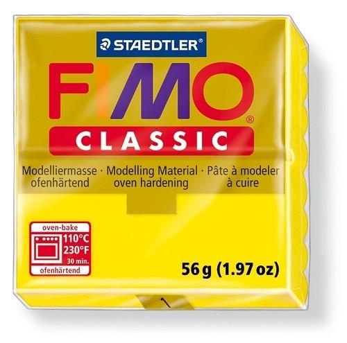 Fimo classic boetseerklei 56 g geel