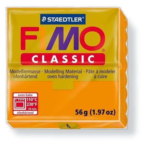 Fimo classic boetseerklei 56 g oranje