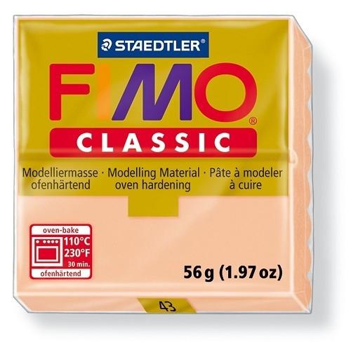 Fimo classic boetseerklei 56 g huidskleur