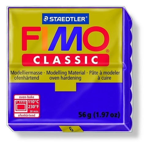 Fimo classic boetseerklei 56 g lila