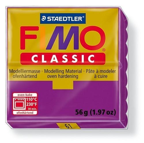 Fimo classic boetseerklei 56 g violet