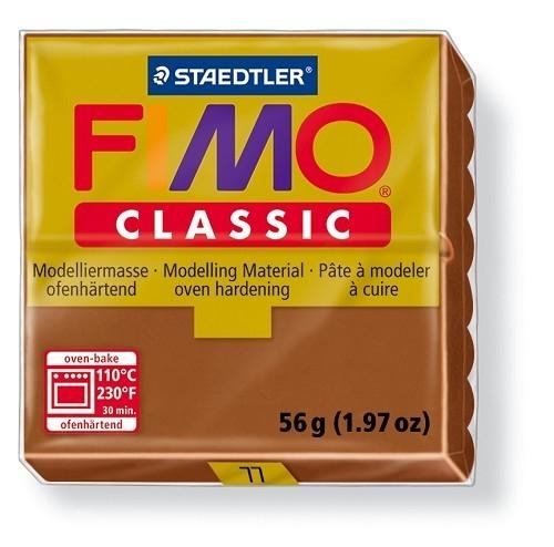 Fimo classic boetseerklei 56 g chocolade