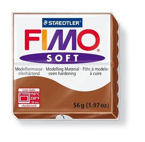 Fimo soft boetseerklei 56 g caramel