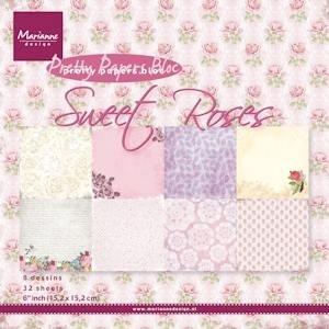 Sweet Roses , paper bloc