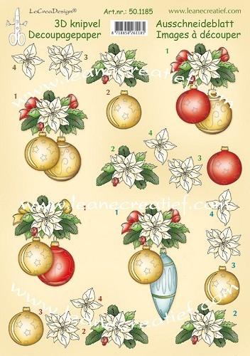 Leane creatief - Kerst bal