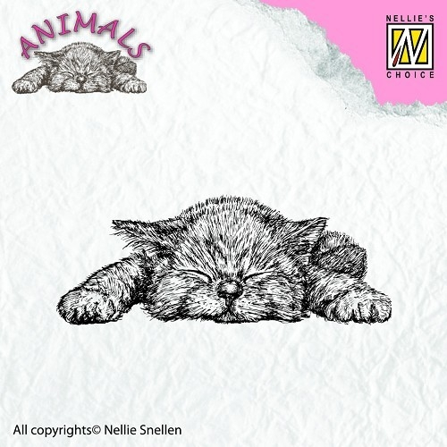 Clear stamps - Animals - Kitten