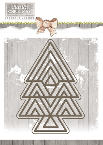 Rustic Christmas -Tree - PM10040