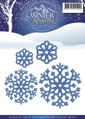 Precious marieke, Winter wonderland , Snowflakes