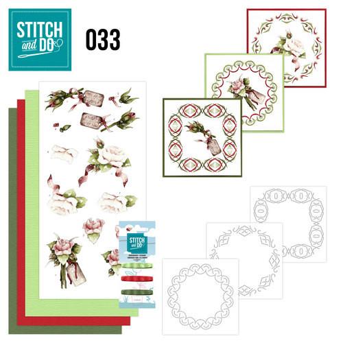 Stitch & do - 33 Rozen