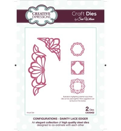 Creative Expressions - Dainty Lace Edger