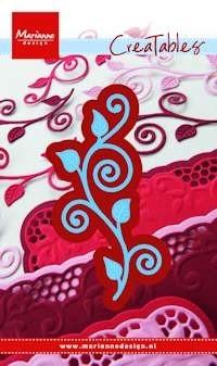 Marianne desgn, stencil swirls & leaves