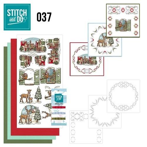 Stitch & do - 37 Kerstversiering