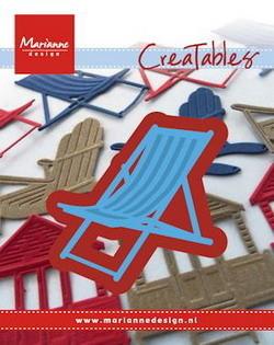 Marianne desgn - Craftables stencil deck chair
