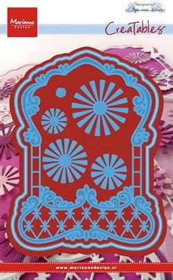 Marianne desgn - Craftables stencil Anja's label