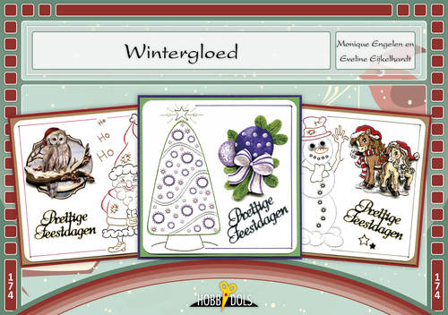 Hobbydols-  174 - Wintergloed - borduren