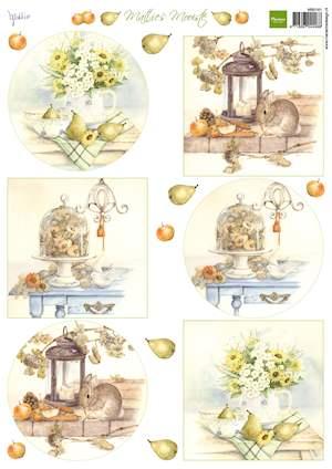 Marianne design, knipvel Mattie's Mooiste herfst boeketten MB0161