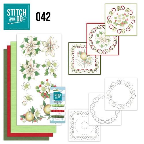 Stitch & do - 42 - White Christmas Flowers