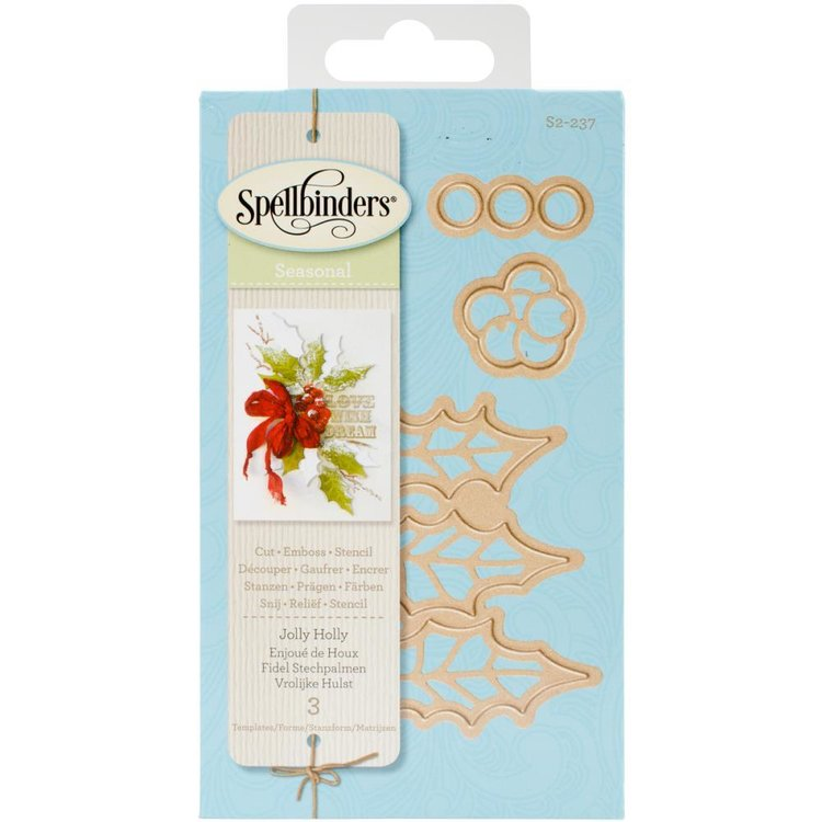 Spellbinders S2-237 Jolly Holly