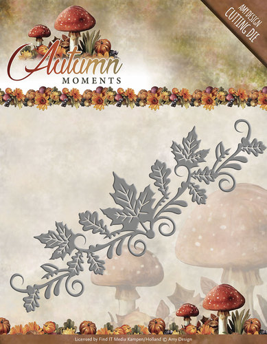Die -  Autumn Moments - Leaves Border- ADD10074
