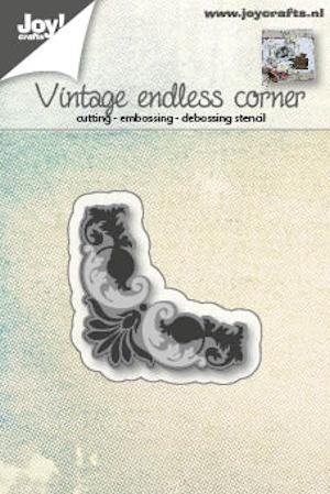 Joy Crafts - Joy! stencil hoekje endless vintage 6002/0561