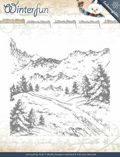 Winterfun -  Embossing Folder