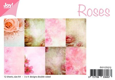 Joy Crafts - Joy! papierset rozen 6011/0513