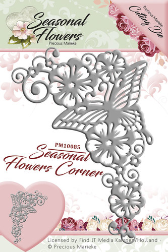 Seasonal Flower -  Die - Corner