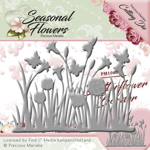 Seasonal Flower -  Die - Butterflower Grass pm10086