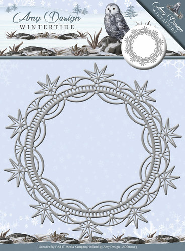 Die - Wintertide - Ice Crystal  Frame ADD10079