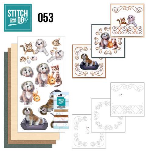 Stitch & do - 53 Huisdieren