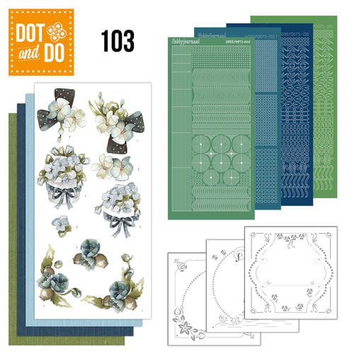 Dot & do  103 Fantastic floweers
