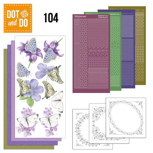 Dot & do  104 Butterflies