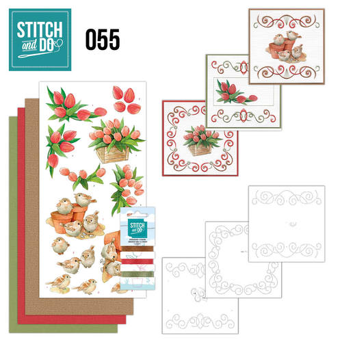 Stitch & do - 55 Tuin klassiekers
