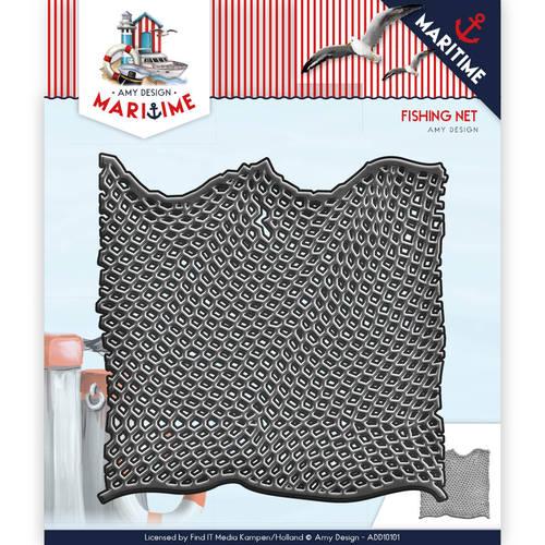 Die - Amy Design - Maritime - Fishing Net  ADD10101