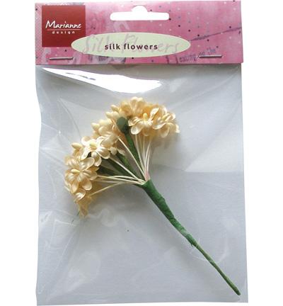 Silk Flowers - Off White -Marianne design