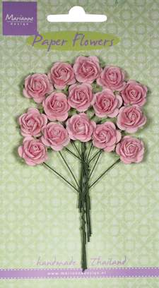 Paper Flowers- Rose - light pink - Marianne-design RB2245