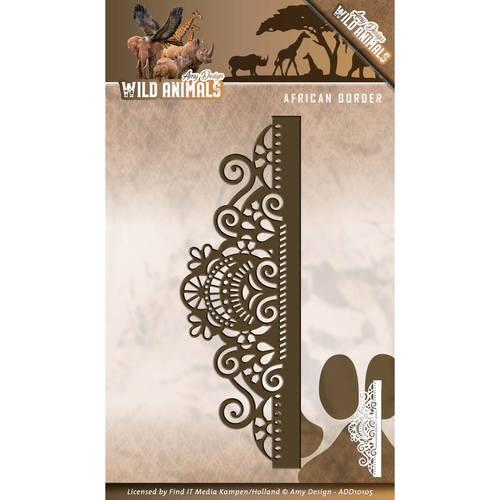 Die - Amy Design - Wild Animals - African Border   ADD10105