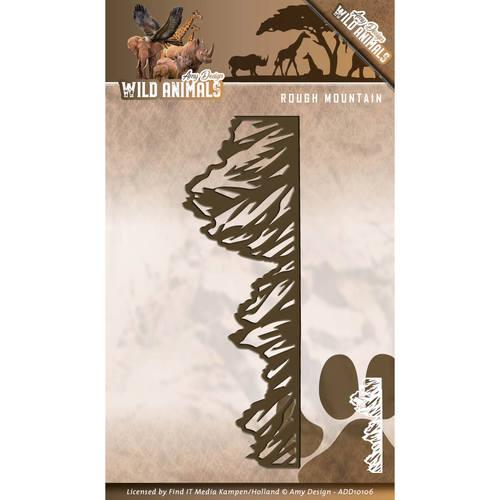 Die - Amy Design - Wild Animals - Rough Mountains  ADD10106