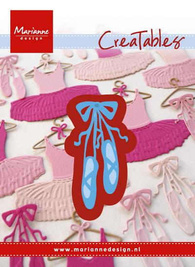 Marianne desgn - Creatables stencil - ballet shoes