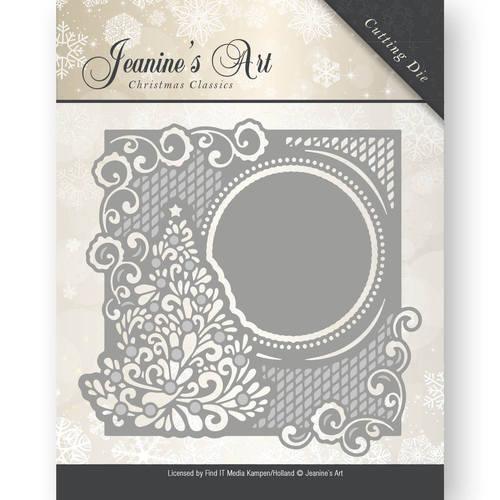 Die - Jeaninnes Art - Christmas Classics - Christmas tree frame  JAD10005