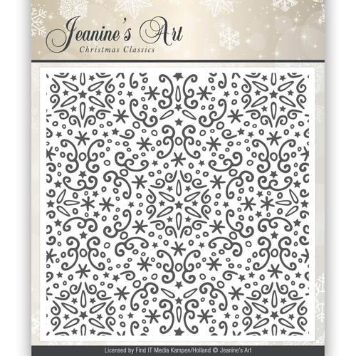 Embossing Folder - Jeaninnes Art - Christmas Classics  JAEMB10001