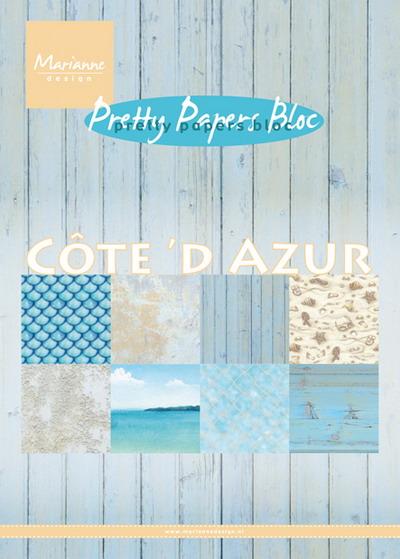 Marianne design - Pretty Papers bloc - Cote d'Azur