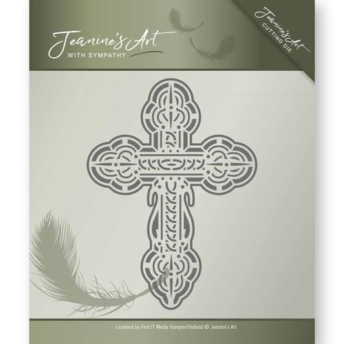 Die - Jeanine's Art - With Sympathy - Cross  JAD10012