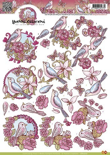 Lente vogels