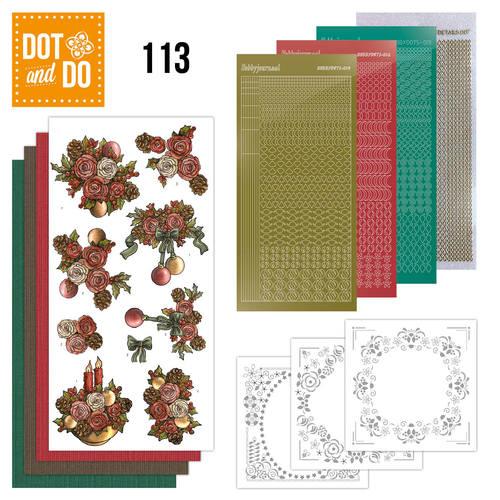 Dot & do  113 Christmas Flowers