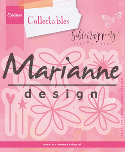 Marianne desgn, Collectables Giftwrapping - Karen's pins & bows