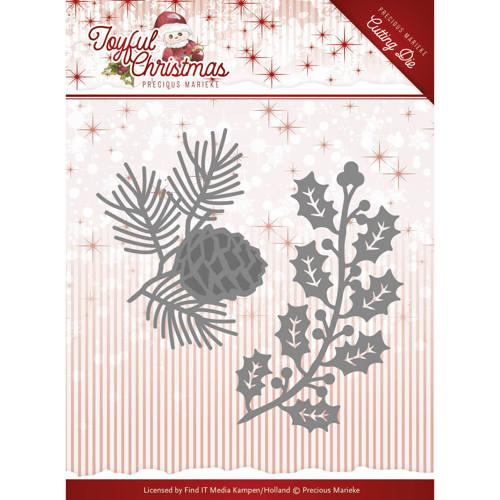 Die-Precious Marieke - Joyful Christmas - Christmas foliage
